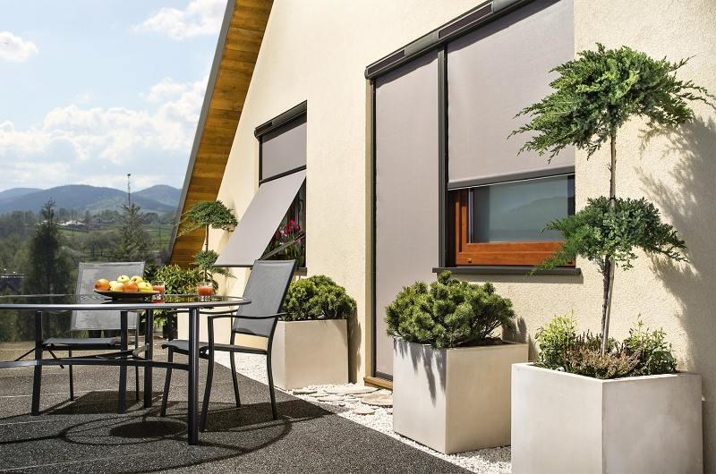 Venkovní markýzy na okna a balkónové dveře