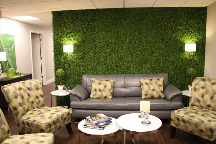 Florum - umělé zelené stěny